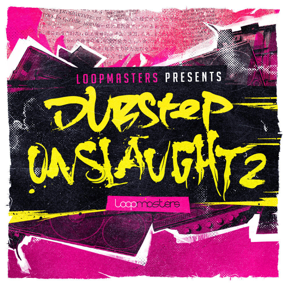 Loopmasters Dubstep Onslaught Vol.2